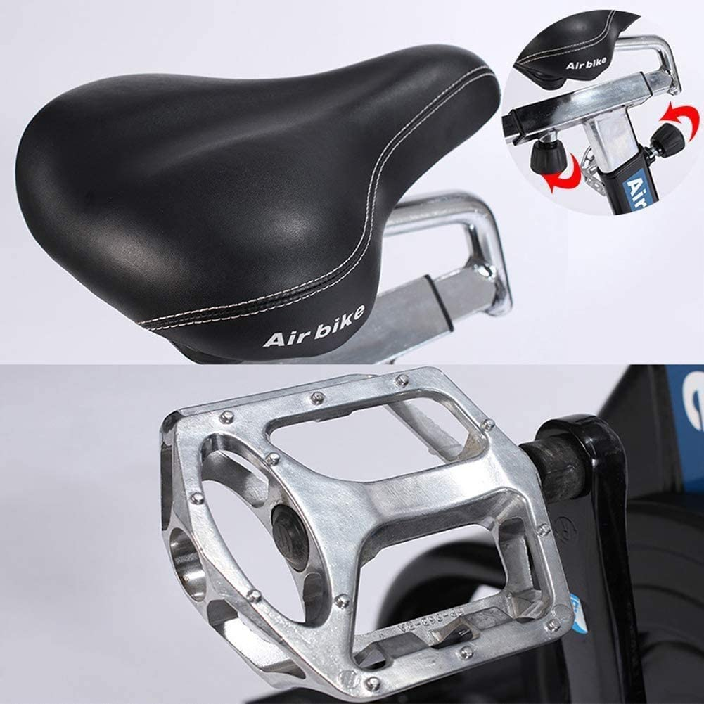 assault airbike selle et pedale