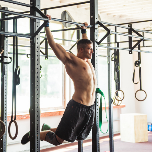 muscle up tractions